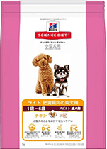 サイエンス・ダイエット ライト 小型犬種用 肥満傾向の成犬用