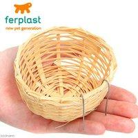 ferplast 鳥用スバコ PA4455 Φ8.6×5cm 小鳥の皿巣 鳥 巣箱・巣材 皿巣