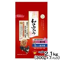 ジェーピースタイル 和の究み 健康で丈夫な骨関節に 超小粒 1~6歳までの成犬用 2.1kg (300g×7パック)
