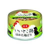 アイシア いいとこ鶏はかた地どり 鶏ささみと緑黄色野菜 すなぎも入り 65g 24缶入り 訳あり