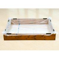 お手軽 池製作キット(W120×D90×H18.5cm) ブラウン