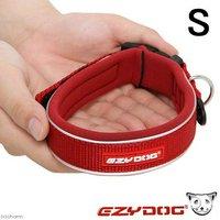 犬 首輪 イージードッグ ネオカラー S (首周り32~36cm) レッド 小型犬用