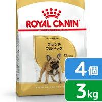 ロイヤルカナン フレンチブルドッグ 成犬高齢犬用 3kg×4袋  ジップ付
