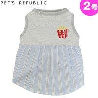 PET'S REPUBLIC POPワンピース 2号 ブルー