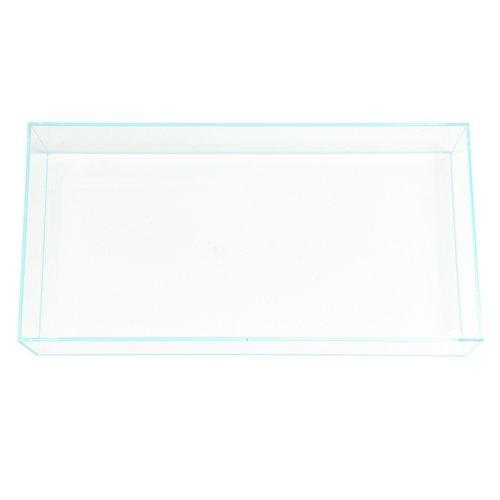 スーパークリア フラットS オールガラス水槽 (60×30×10cm) Aqullo