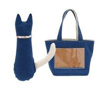 ペットとOSORO! にゃんこセット 猫用おもちゃ&トートバッグ ハンドメイド 猫