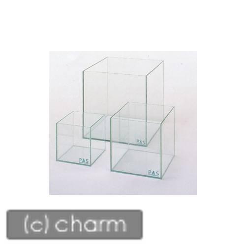 GLASIA キューブ CU−250(25×25×25cm)(5mm) クリアシリコンタイプ 25cm水槽(単体) お一人様2点限り