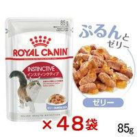 ロイヤルカナン 猫 インスティンクティブ ゼリー 成猫用 85g 48袋 9003579309513