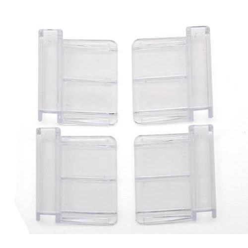 テトラ 6mm厚ガラス用フック(フタ受け) 4個入り ガラス厚6mm対応 交換パーツ