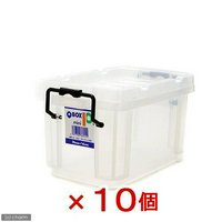 QBOX-10 mini (230×135×125mm)10個 クワガタ カブトムシ 飼育ケース コンテナ ブリード