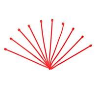 サンゴ配線の仕分けに便利 結束バンド 蛍光ピンク 100mm 10本入
