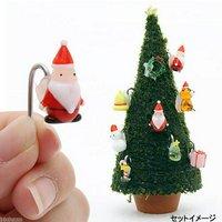 モスツリー用 ガラスオーナメント サンタさん 1個 クリスマス