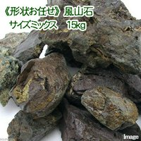 形状お任せ 風山石 サイズミックス(約5~25cm) 15kg