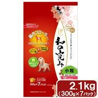 ジェーピースタイル 和の究み 小粒 12ヶ月までの子犬用 2.1kg(300g×7パック)