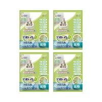 デオトイレ ふんわり香る消臭抗菌サンド 3.8L 猫 猫砂 4袋入り