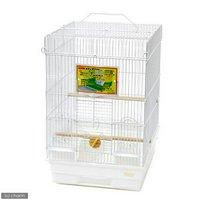 HOEI 35手のり ピュアホワイト 止まり木直径15(370×415×545) 鳥 ケージ 鳥かご