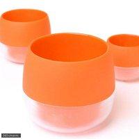 ハイミニ ビビ 鉢(ビビッドオレンジ)φ8×9cm