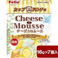 ペティオ カップdeドルチェ チーズ風味ムース 16g×7個入