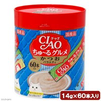 いなば CIAO(チャオ)ちゅ~るグルメ かつおバラエティ 14g×60本