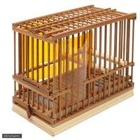 川井 KAWAI 竹カゴ 7寸 山カゴ DXタイプ (120×215×172) ケージ 鳥かご