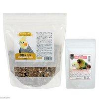 鳥さんの食事 昆虫食サポート ミルワームソフトと総合栄養食 デイリーアップフード 中型インコ セット