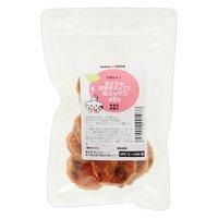 国産 鶏ささみ堅焼きチップス 桃ミックス 40g ぱっくんチップス 犬用おやつ