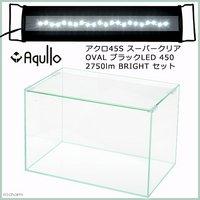 アクロ45S スーパークリア OVALブラック LED 450 2750lm BRIGHT セット