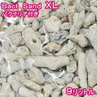 ばくとサンド(立上げ簡単サンド)XL 9リットル バクテリア付き ライブサンド