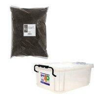 QBOX-40 + XLマット カブト用 10リットル 昆虫 カブトムシ 飼育セット