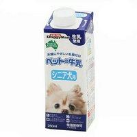 ドギーマン ペットの牛乳 シニア犬用 250ml 高齢犬用ミルク 犬 ミルク