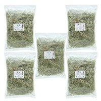 2021年度産 新刈 国産 青刈りイタリアンライグラス 1.5kg(300g×5個) チャック袋 うさぎ 牧草