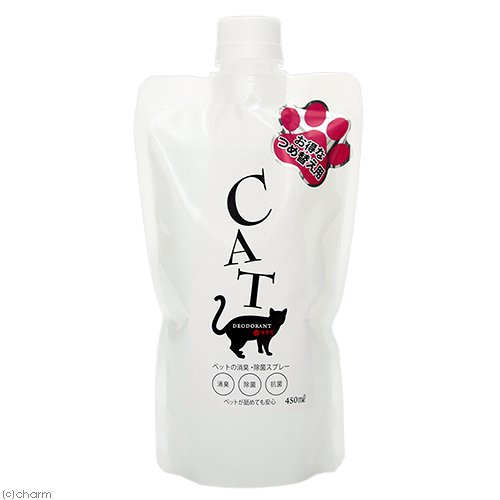 B−blast ペットの消臭・除菌スプレー 猫専用 詰め替え用 450ml