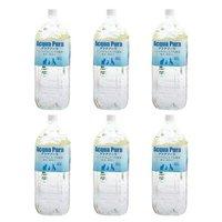 アクアプーラ 純水 2L ペットウォーター ドリンク