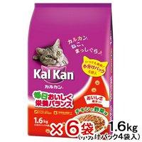 カルカン ドライ チキンと野菜味 1.6kg(小分けパック4袋入) 6袋