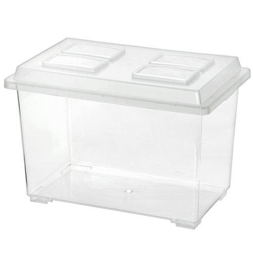 コバエシャッター 大 (370×221×240mm) プラケース 虫かご 飼育容器 昆虫 カブトムシ クワガタ