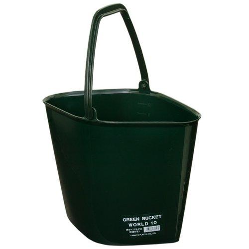 大和プラスチック グリーンバケツ WORLD 10型
