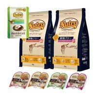 ニュートロ ナチュラルチョイス 穀物フリー ドライ2kg 2種2袋 + デイリー ディッシュ 75g 4種4個 + おまけ付