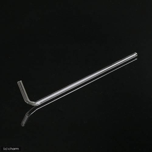クリスタルジョイント L型・大(20cm×4cm 外径6mm) 1個 6mmエアーチューブ用