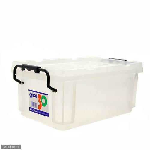 QBOX−30 (340×220×140mm) 1個 クワガタ カブトムシ 飼育ケース コンテナ ボックス 飼育 産卵 ブリード