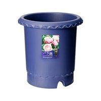 リッチェル バラ鉢 ブルー 10号 φ30×30cm 3個入