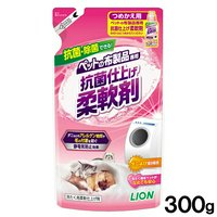 ライオン ペットの布製品専用  抗菌仕上げ柔軟剤 詰め替え用 300g