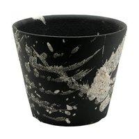 信楽焼 植木鉢 雅-白飛 3号 サボテン 多肉植物 山野草 雪割草