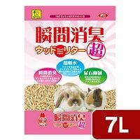 三晃商会 SANKO 瞬間消臭ウッドリター スーパー 7L(3.5L×2袋)