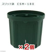 スリット鉢 CSM-180 2個入り ガーデニング 鉢