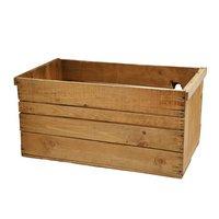 青森県産りんご箱 アンティーク仕立て 訳あり 1箱