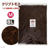 天然樹皮培養土 クリプトモス Mサイズ 8L シダ 観葉植物 山野草用
