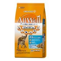 AllWell 肥満が気になる猫用 フィッシュ味挽き小魚とささみフリーズドライパウダー入り 750g