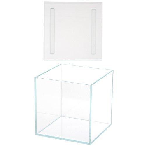 スーパークリアコケテラリウム アクロ20S(20×20×20) + コケテラリウム用 ガラスフタ 22×22cm ガラス厚5mm
