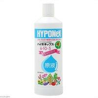 ハイポネックス 原液 ~Newレイシオ~ 800ml 追肥 液体肥料 速効性肥料 草花 野菜