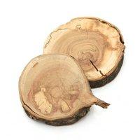 国産 天然素材の切り株ステージ 訳ありさくらの木 M 2個入 かじっても安心 かじり木